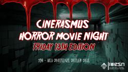 CinErasmus Horror Movie Night